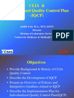 Clia and Iqcp j Yost 100313