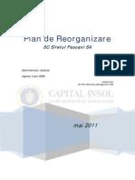 Siretul Pascani Plan Reorganizare