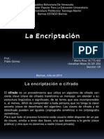 La Encriptacion