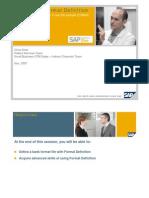 SAP ETS Format definition Demo