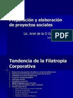 Esquemas de Financiamiento y Proyectos Sociales 2008-1