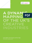 A Dynamic Mapping of the Creative Industries