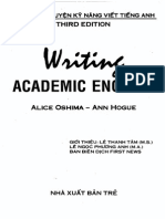 Writing Academic English 3rd Edition by Alice Oshima and Ann Hogue