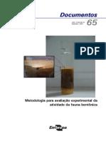 Coleta de Sedimento Metodologia p Avaliacao Experimental Atividade Fauna Bentonica1