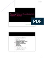 Listeria y Bacillus - 2011-12