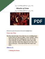 Miracles of Jesus 2