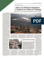 Ciudad de La Cultura - Obra Faraonica de Galicia