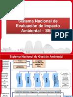 Sistema Nacional de Evaluación de Impacto Ambiental-SEIA