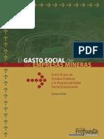 El Gasto Social de Las Empresas Mineras