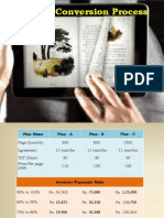 E-Book Conversion Process