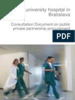 Konzultačný dokument o partnerstve verejného a súkromného obstarávania, MZ SR