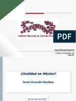 Inacipe La Oralidad en Mexico