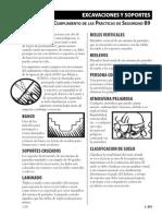 Excavaciones y Soportes (Clasificacion)