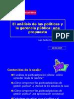 Analisis de Politicas MGPP Uchile 09
