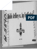 Mobile Artillery vs Jap Fortifications