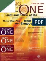 ONE InitiativePoster