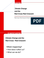 Climate Change and the Red Cross Red Crescent