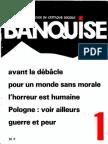 La Banquise N°1 - Printemps 1983