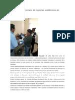 29-07-14 diariomarca Realizaron SSO jornada de implantes subdérmicos en Amoltepec