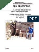 Memoria Descriptiva Pichihua