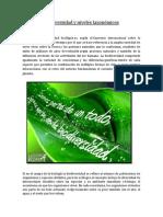 Biodiversidad y Niveles Taxonómicos