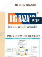 CRM at Big Bazaar