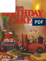 Children's Birthday Cake Book