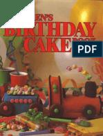 Children's Birthday Cake Book