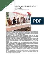 03-08-14 Nss Inaugura SSO El Primer Banco de Leche Humana en El Estado