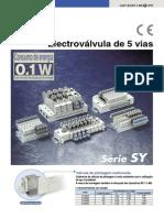 SMC Valvulas Solenoides Serie SY (PO) (1)