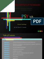 Psychology (psy10) Powerpoint
