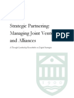 Round Overview StrategicPartnering