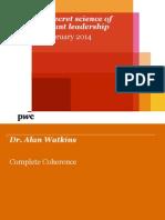 2014 Secret Science of Brilliant Leadership