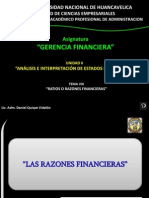 Analisis Ratios Financieros
