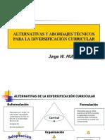 ALTERNATIVAS+Y+ABORDAJES+TÉCNICOS+PARA+LA+DIVERSIFICACIÓN+CURRICULAR.ppt