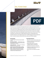 Foam Dam Brochure REV 0 1210
