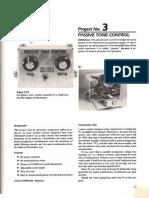 Project 3 Passive Tone Control p70-73
