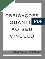 Gustavo Gusmão - Obrigações Quanto ao Seu Vínculo.pdf