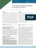 Monitorización Glucémica y Educación Terapéutica en La Diabetes