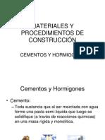 Cemento y Hormigon - Bueno
