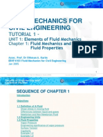 Fluid Mechanics for Civil Engineering