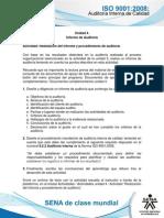 Actividad de Aprendizaje Unidad 4- Realizacion Del Informe y Procedimiento de Auditoria