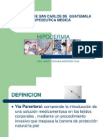 Clase Hipodermia
