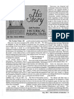 1994 Issue 4 - The Puritan Vision II, The Six Great Truths That Formed the Puritan Vision - Counsel of Chalcedon