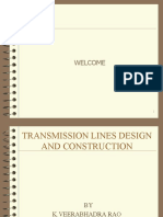 Transmission line design & construction
