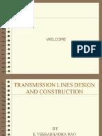 Transmission line design & construction