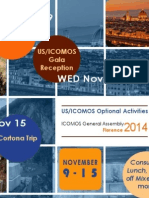 US/ICOMOS Activities at ICOMOS General Assembly