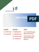 Agenda Noviembre 2013