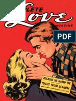 Ace Comics Complete Love Magazine 163 1952