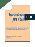 RECETARIO DE CASOS